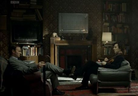Mark Gatiss Sherlock - The Great Game (2010)