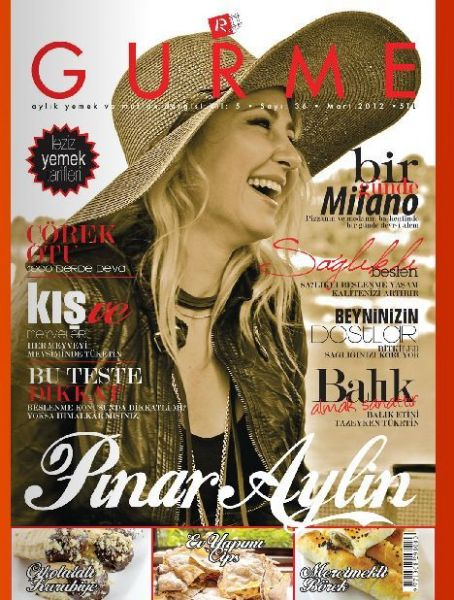 Pinar Aylin - Gurme Magazine Cover [Turkey] (March 2012)