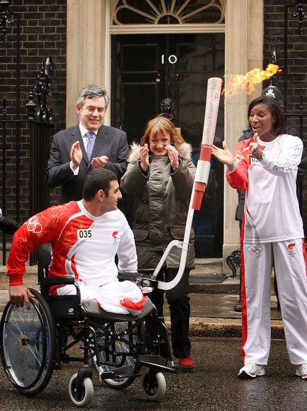 Denise Lewis - Olympic Torch Relay