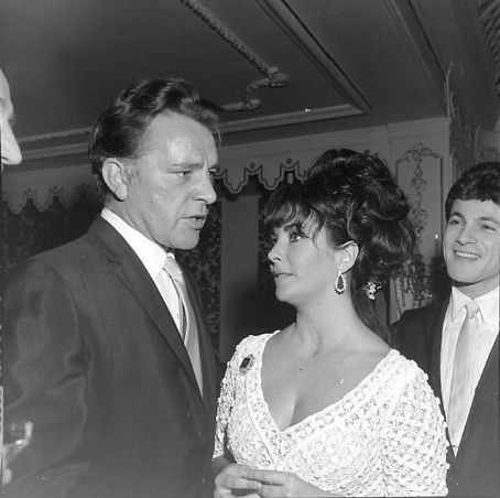 Tommy Sands Elizabeth Taylor And Richard Burton
