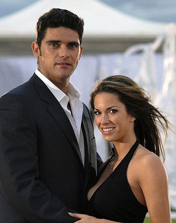 Amanda Salinas Mark Philippoussis and