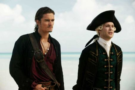Tom Hollander (L-R) ORLANDO BLOOM, TOM HOLLANDER Photo Credit: Peter Mountain © Disney Enterprises, Inc. All Rights Reserved.