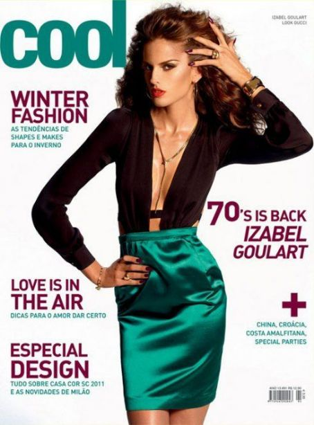 Izabel Goulart - COOL Magazine Cover [France] (June 2011)