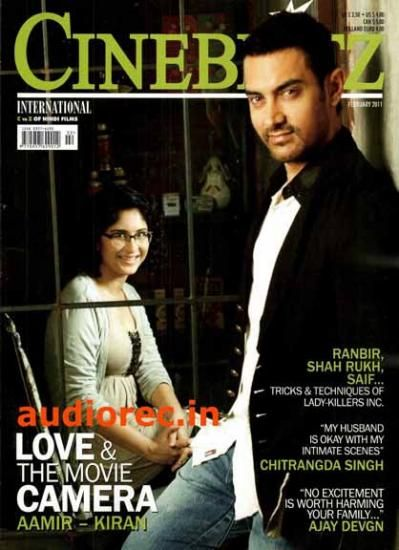 Aamir Khan, Kiran Rao - Cinéblitz Magazine Cover [India] (February 2011)