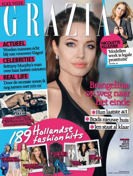 Angelina Jolie - Grazia Magazine [Netherlands] (5 February 2010)