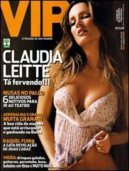 Claudia Leitte - VIP Magazine Cover [Brazil] (February 2008)