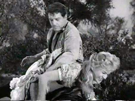 Susan Oliver Susan with Robert Horton in The Maggie Hamilton Story on Wagon Train