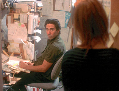 Scott Cohen  and Jennifer Westfeldt in Fox Searchlight's Kissing Jessica Stein - 2002