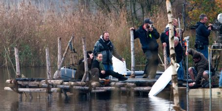 Snow White New Pics of Kristen Filming SWATH