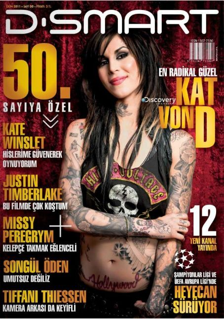 Katherine von Drachenberg - D-Smart Magazine Cover [Turkey] (October 2011)