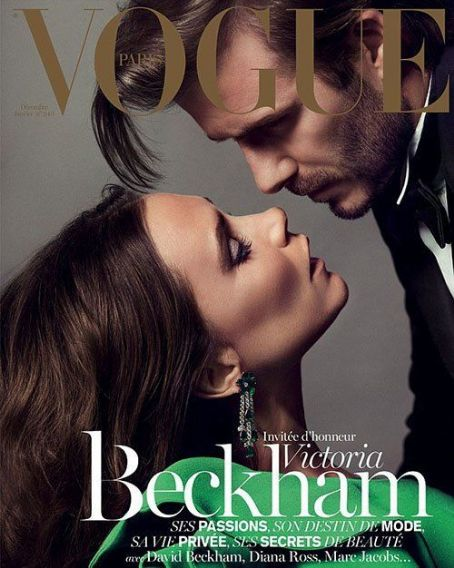 Victoria Beckham Talks Marriage to David Beckham in Vogue Paris December 2013