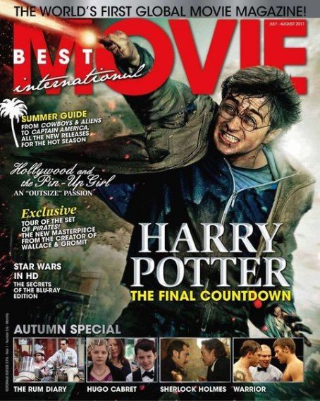 Daniel Radcliffe - Best Movie International Magazine Cover [United States] (July 2011)