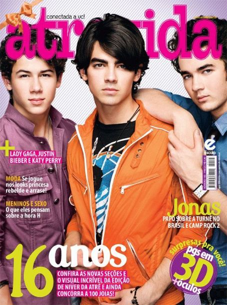 Atrevida Magazine Cover [Brazil] (3 September 2010)