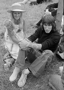 Roger Waters and Lady carolyn Christie
