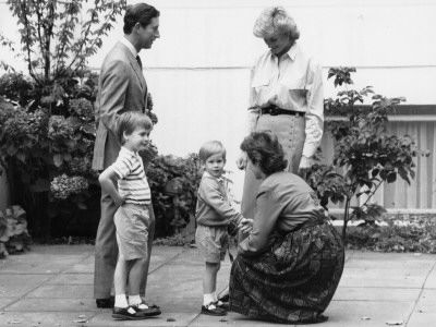 Princess Diana and Prince Charles - Princess Diana, Prince Charles, Prince William, Prince Harry
