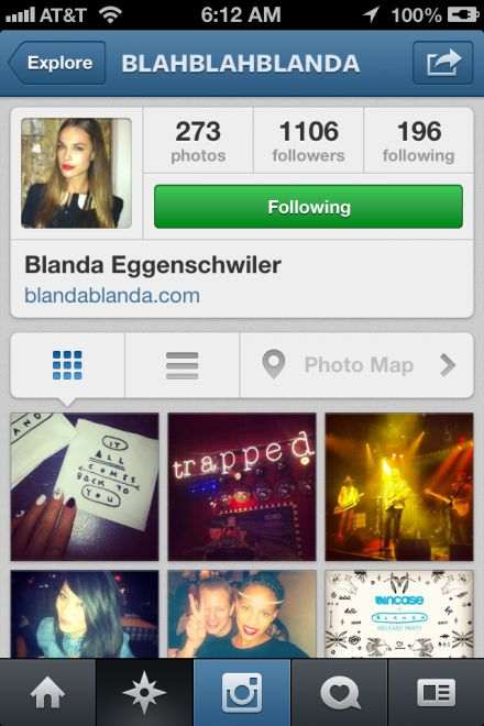Blanda Eggenschwiler Joe Jonas and