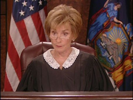 Judge Judy So What?