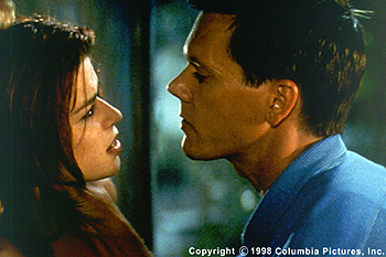 Wild Things Neve Campbell and Kevin Bacon in