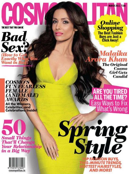 Malaika Arora Cosmopolitan India March 2012