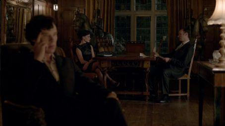 Mark Gatiss BBC Sherlock, Sherlock, Mycroft Holmes & Irene Adler