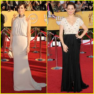 Kristen Wiig & Maya Rudolph - SAG Awards 2012 Red Carpet