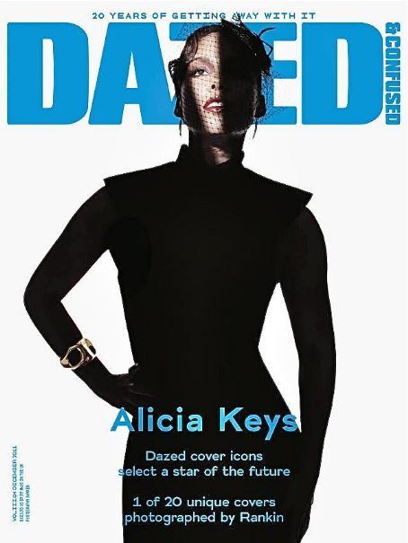 Alicia Keys - Dazed & Confused Magazine Cover [United States] (10 December 2011)