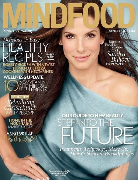 Sandra Bullock - MindFood Magazine Cover [New Zealand] (March 2012)