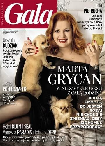Marta Grycan - Gala Magazine Cover [Poland] (20 February 2012)