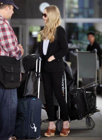 Amanda Seyfried: at LAX Airport in Los Angeles