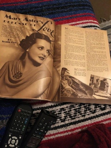 Mary Astor - Screen Play Magazine Pictorial [United States] (February 1937)