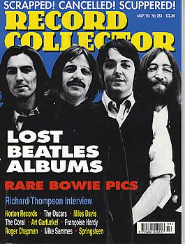 George Harrison - Record Collector Magazine [United Kingdom] (March 2003)