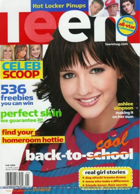 Ashlee Simpson-Wentz - Teen Magazine [United States] (October 2004)