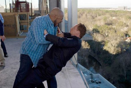 Rockmond Dunbar Chris () and William (Cole Hauser) in TYLER PERRY'S THE FAMILY THAT PREYS. Photo credit: Alfeo Dixon