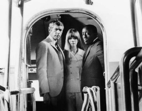 Joan Delaney THE PRESIDENT'S ANALYST, James Coburn, , Godfrey Cambridge, 1967