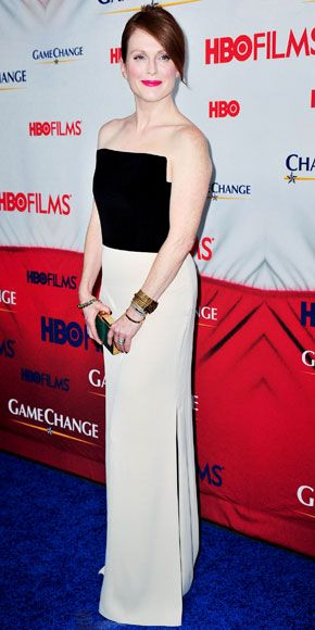 "Julianne Moore Premieres ""Game Change"" in NYC"