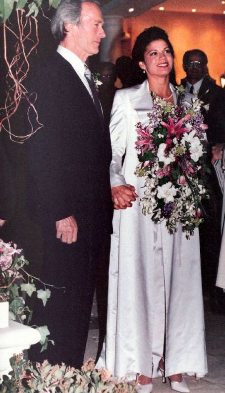 Clint Eastwood and Dina Eastwood wedding