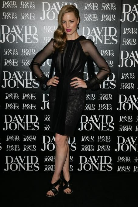 Melissa George David Jones Autumn/Winter 2011 Season Launch in Sydney February 8, 2011