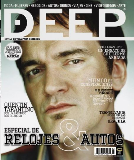 Quentin Tarantino - Deep Magazine [Mexico] (September 2009)