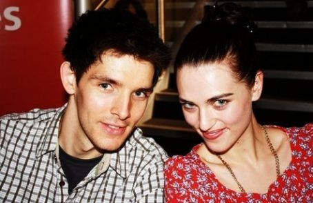 Katie McGrath and Colin Morgan Colin Morgan