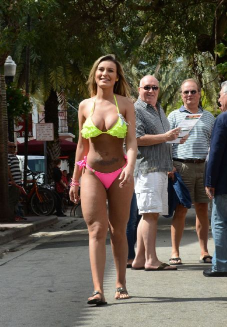 Andressa Urach ANDRESSA URACH in Bikini on the Beach in Miami