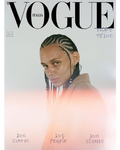 Binx Walton - Vogue Magazine Cover [Italy] (September 2020)