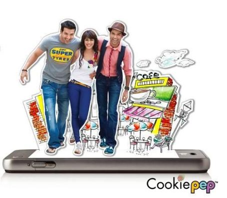 John Abraham - John, Abhay and Genelia Shoots for LG Cookie advert