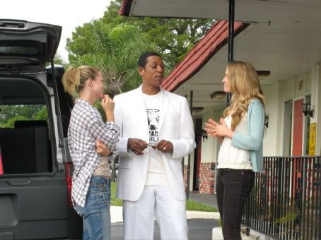Miranda Bliss - A.J. Cook, Orlando Jones and Sarah Carter in the scene of Regent Releasing 'Misconceptions.'