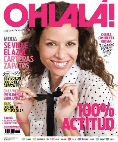 Julieta Ortega - OhLala Magazine Cover [Argentina] (March 2012)