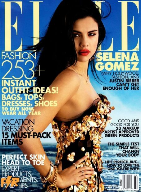 Selena Gomez - Elle Magazine Cover [United States] (July 2012)