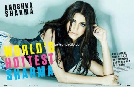Anushka Sharma - FHM Magazine Pictorial [India] (August 2012)