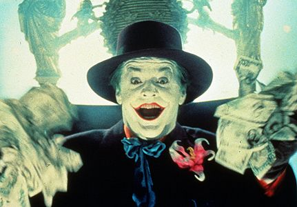 Joker Jack Nicholson in Batman (1989)