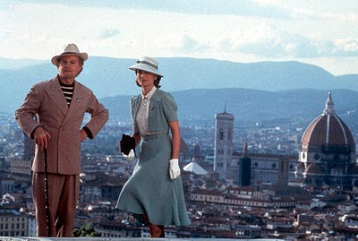 Derek Jacobi  and Kristin Scott Thomas in USA Films' Up At The Villa - 2000