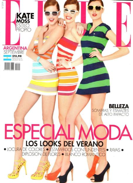 Carmen Kass - Elle Magazine Cover [Argentina] (September 2011)