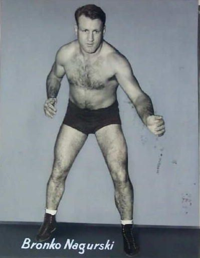 Bronko Nagurski  The Wrestler Late 1940s & 50s